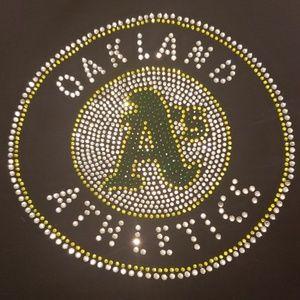 Oakland Athletics Bling Tank Top